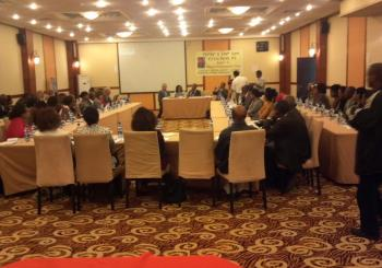 Addis Ababa Health officials from all ten sub cities gathered in Jupitor Hotel Bole